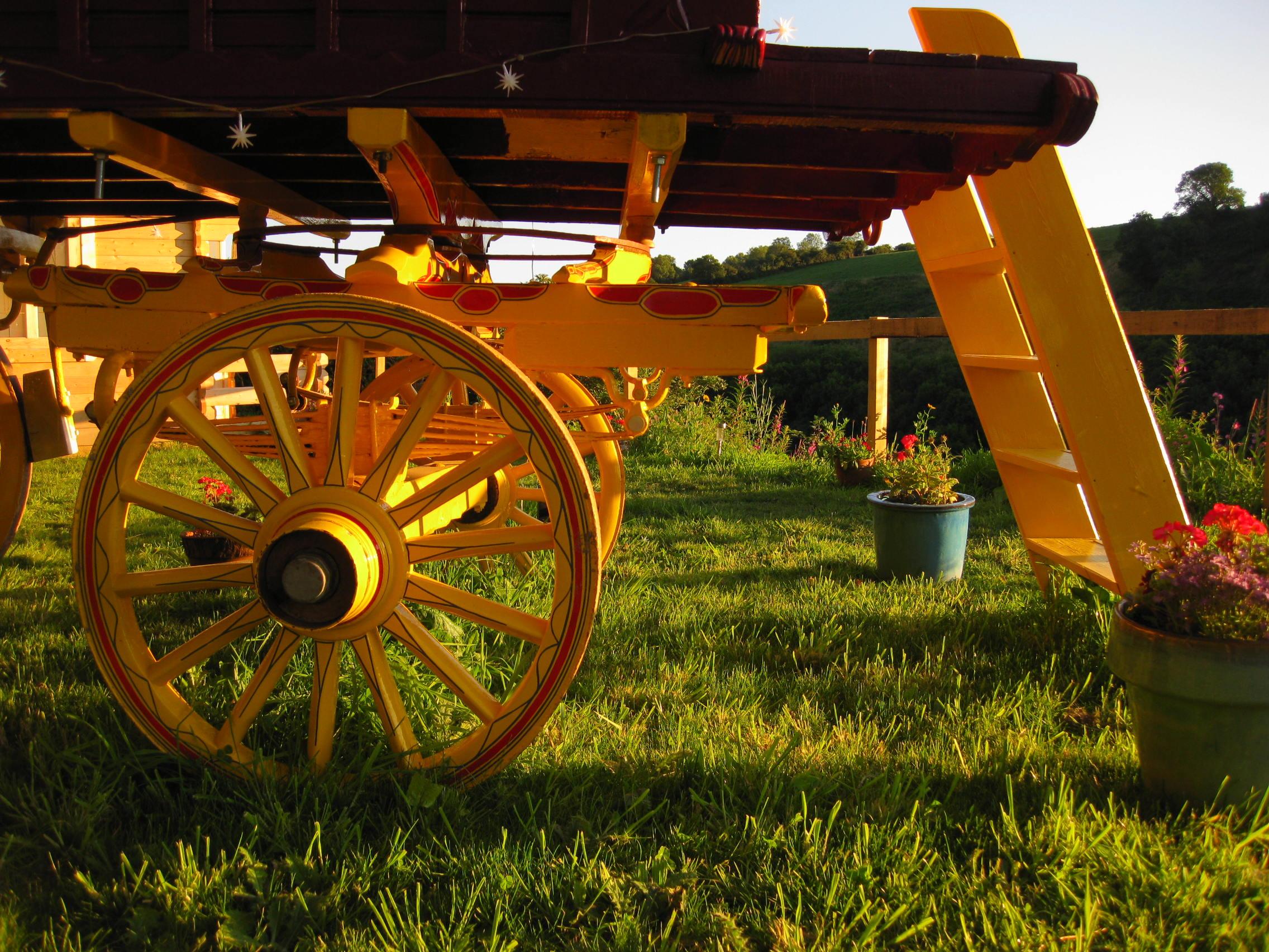 Gypsy Wagon Ceridwen Centre