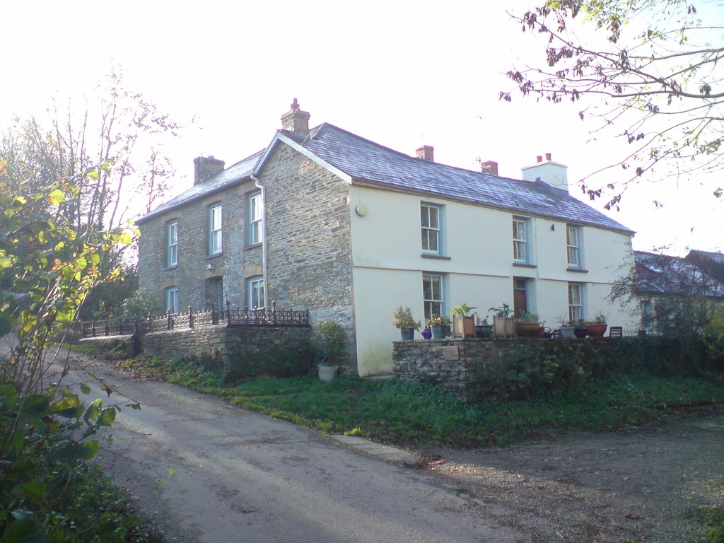 Penybanc farmhouse