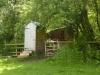 compost-toilet-and-small-kitchen-in-yurt-area