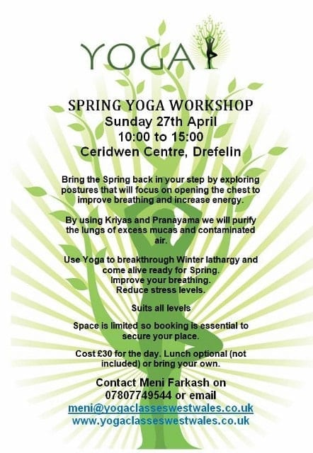 Spring Yoga Workshop