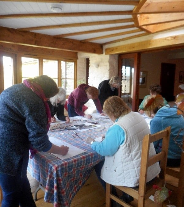 Theo Crutchley Mack's drawing workshop, 4th March