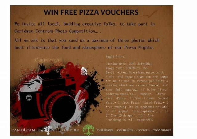 Pizza Night – Photo Competition