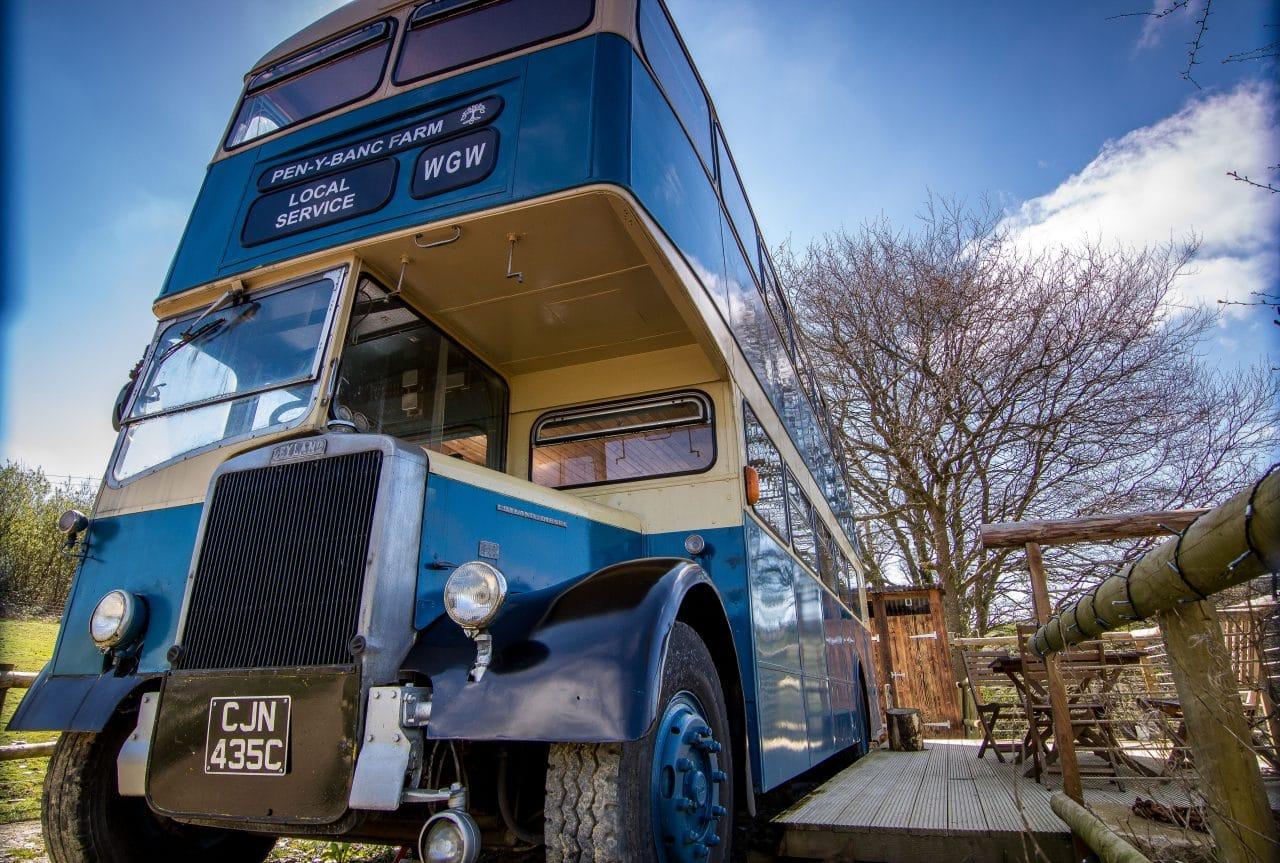 double decker 1963 bus