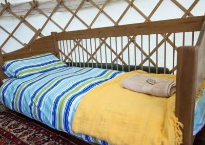 Afallon Yurt interior2