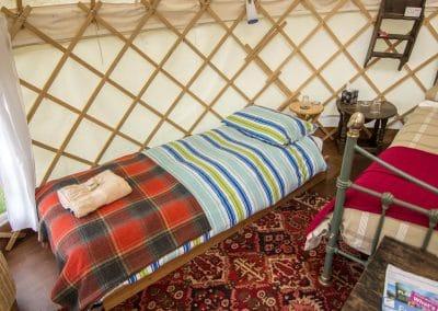 Afallon Yurt interior3