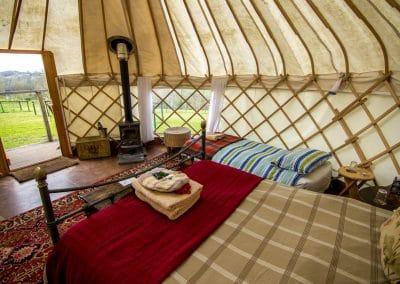 Afallon Yurt interior4
