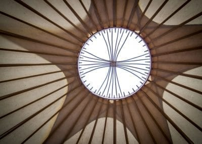 Bryn Helyg Yurt interior 2