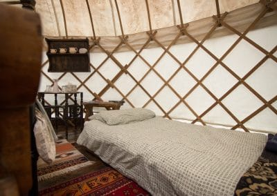 Damson yurt interior2