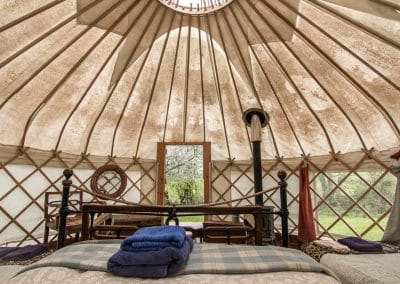 Damson yurt interior6