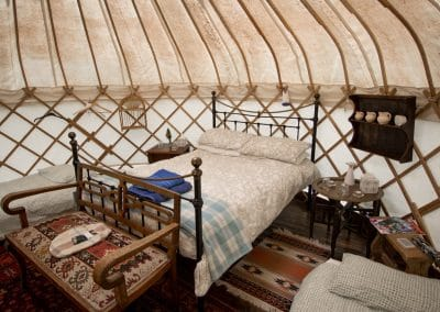 Damson yurt interior7