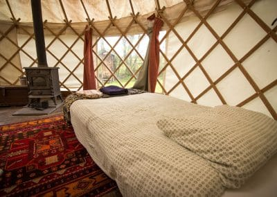 Damson yurt interior8