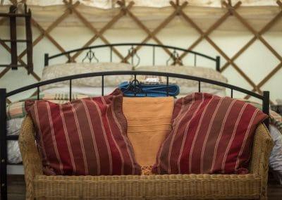 Wild Garlic Yurt interior 2