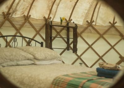 Wild Garlic Yurt interior 3