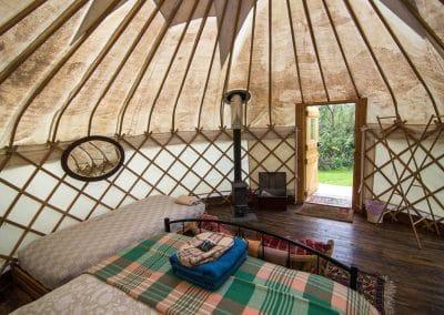 Wild Garlic Yurt interior 4