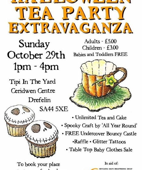 Halloween Tea Party Extravaganza, 29th October