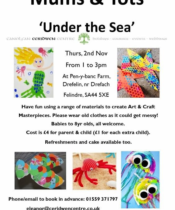 Mums & Tots Arts & Crafts, 2nd November